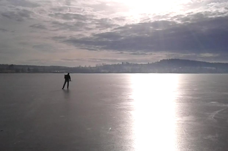 11.1.2014 - Na Lipně jsou podmínky na nordické brusle ideální