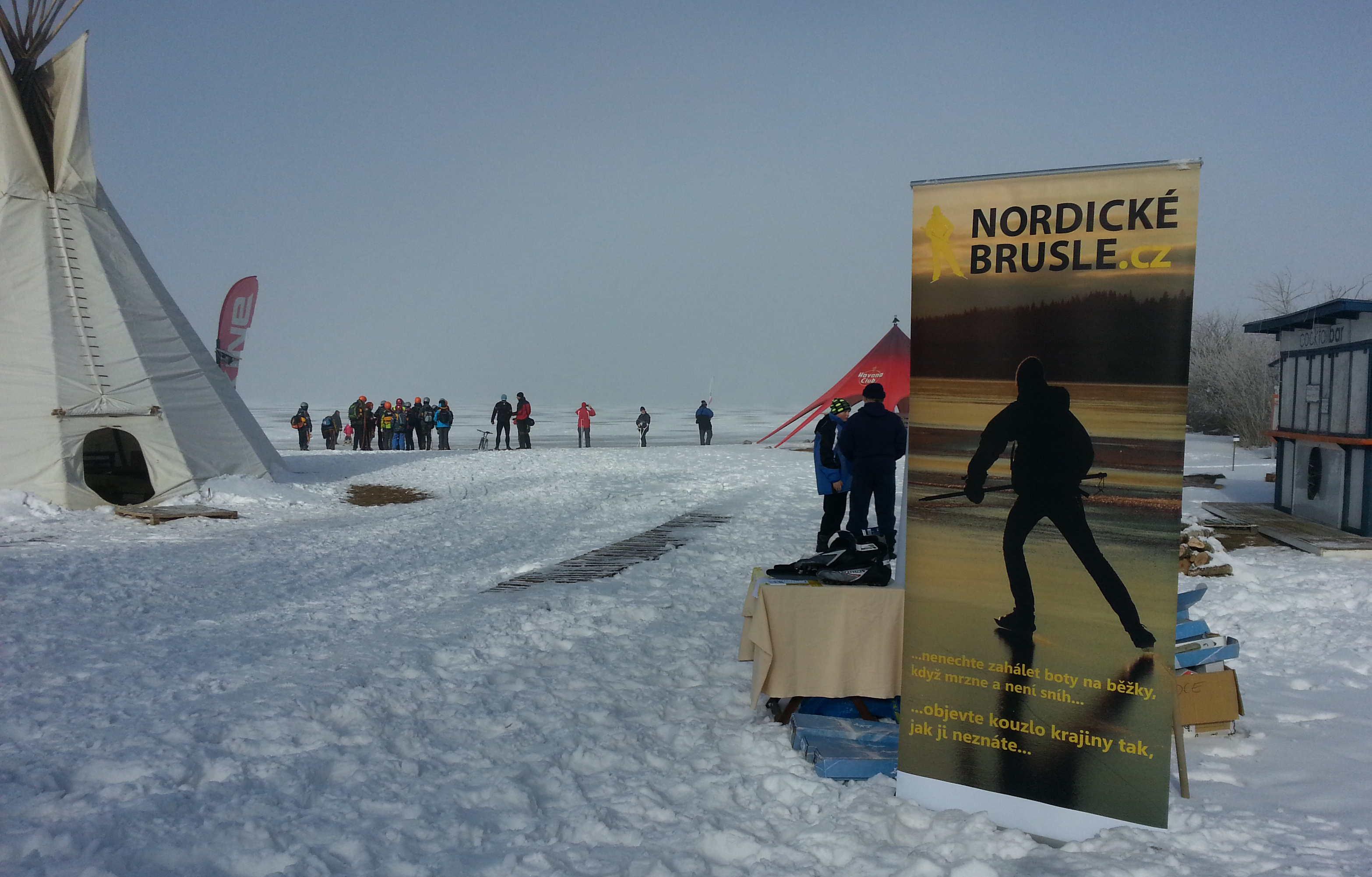 První ročník Lipno Ice maratonu