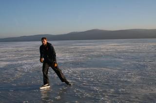 7.2.2015 - Lipno je krásně zamrzlé!