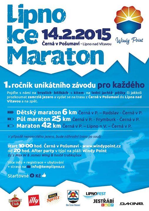 13.-15.2. 2015 : Bruslařský autobus a bruslařský maraton